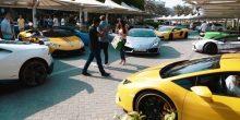 بالفيديو | قافلة من سيارات لامبورغيني تحتفل بإطلاق لعبة فورزا هوريزون 3 في دبي
