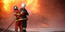 بالفيديو | إخماد حريق بأحد الأبراج السكنية في أبوظبي