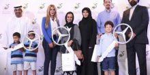 إدارة دلما مول تحتفل مع الرابحين بتقديم 3 سيارات مرسيدس جديدة و 64 جائزة نقدية