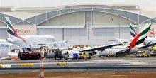 هيئة الطيران المدني: حادث طائرة الإمارات سببه ارتطامها بمدرج في مطار دبي