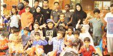 جمعية الرحمة الخيرية في رأس الخيمة تمنح كوبونات دراسية للأيتام