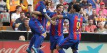 بالفيديو: برشلونة يخطف فوز صعب من فالنسيا