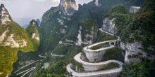 بالصور: أخطر الطرق حول العالم