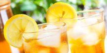 الشاي المثلج بالليمون بعد الأكل يساعد في إنقاص الوزن