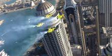 بالفيديو | أجنحة نفاثة في سماء دبي