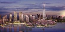 اليوم | الشيخ محمد بن راشد يضع حجر الأساس لأعلى برج في العالم