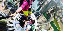 شرطة دبي | استعراضات السيلفي فوق الأبراج جناية
