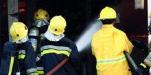 اندلاع حريق في شقة بإحدى البنايات في الشارقة