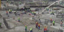 """دبي تدخل """"غينيس"""" مرة أخرى بأكبر كمية صب أساسات خرسانية في العالم"""