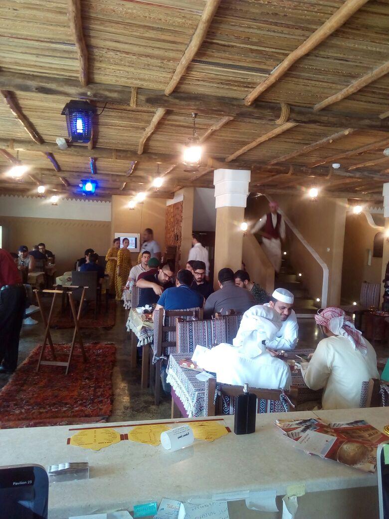 مطعم المطبخ السعودي في دبي