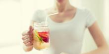 مشروب الفراولة للتخلص من الوزن الزائد