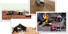 جولة سياحية في أبوظبي (1):  رحلات السفاري الصحراوية