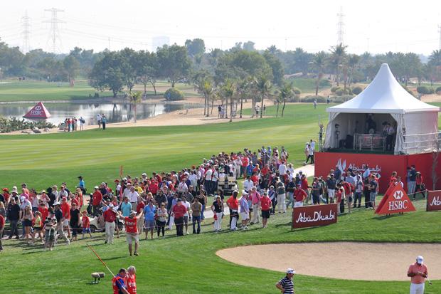 أماكن لعب الجولف في أبوظبي