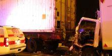 دبي | وفاة آسيوي وإصابتان في تصادم شاحنتين ومركبة