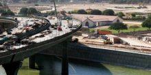 بالفيديو | بدء ضخ المياه في قناة دبي المائية