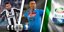 مواجهة نارية بين يوفنتوس ونابولي في الدوري الإيطالي