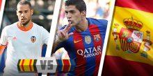 اليوم .. برشلونة في إختبار صعب أمام فالنسيا بالدوري الإسباني
