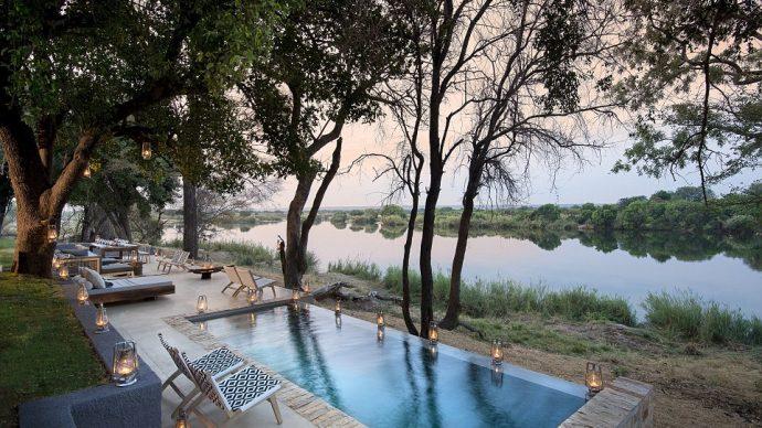 فندق Matetsi نهر لودج زيمبابوي