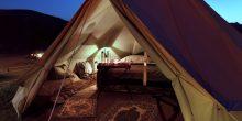 فندق قصر البستان يطلق تجربة تخييم ممتعة على الشاطئ البحر وتحت أضواء النجوم