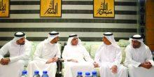 رأس الخيمة | سعود بن صقر القاسمي يعزي ذوي محمد العويس