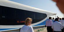 بالصور | أول رحلة بحرية في قناة دبي المائية