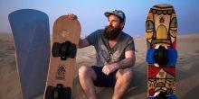 بالفيديو | رياضة التزلج على الرمال في صحراء دبي