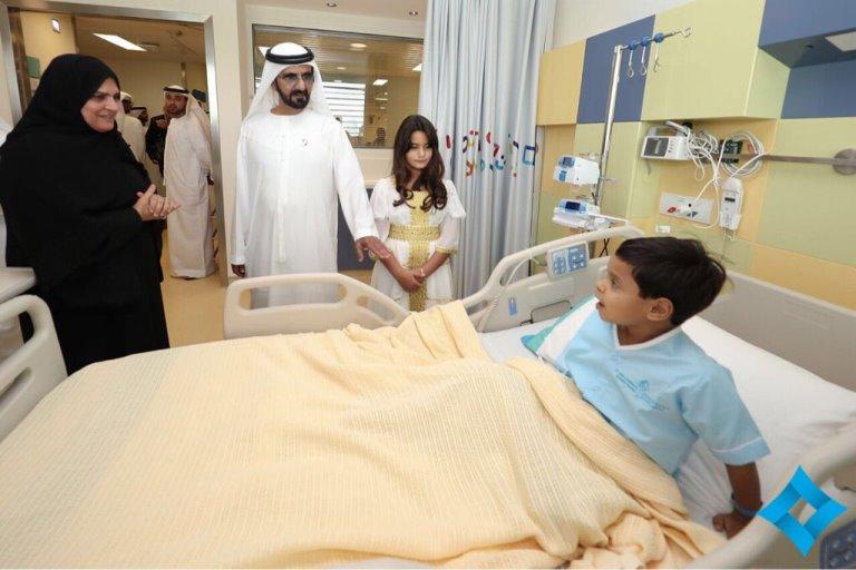 مستشفى الجليلة التخصصي للأطفال بدبي