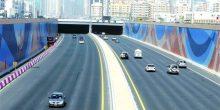 عودة حركة السير في نفق الشيخ زايد بأبوظبي