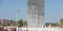 بالصور | زعماء الإمارات يكللون نصب الشهداء التذكاري بالزهور