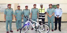 إطلاق دوريات الدراجات الهوائية من قبل شرطة الشارقة
