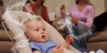 التدخين السلبي يسبب الموت المفاجئ للأطفال الرضع
