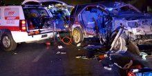 حادثان منفصلان يُسفران عن وفاة طفلة وإصابة 8 أشخاص آخرين