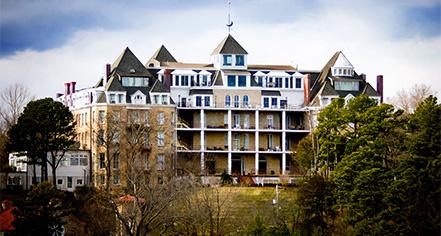 The 1886 Crescent Hotel & Spa