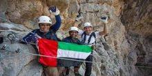 بالفيديو | انطلاق أول تجربة تسلق بالحبال في قمة جبل جيس