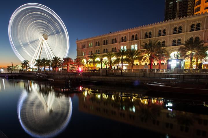 عجلة عين الإمارات في الشارقة