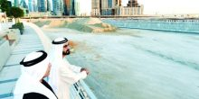 اليوم | محمد بن راشد يفتتح قناة دبي المائية