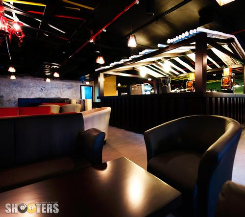 مطعم مقهي شوترز بلياردز – دبي مارينا