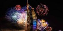 السياح الأوروبيين يعتمدون دبي كوجهة رئيسية خلال رأس السنة