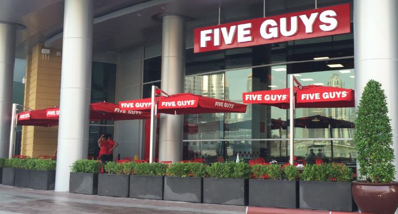 مطعم Five Guys