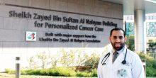 الإماراتي عبيد الشامسي يكتشف نوعًا نادرًا من سرطان القولون