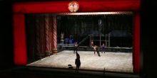 بالفيديو   مسرح أوبرا دبي يتحول إلى حلبة تزلج على الجليد