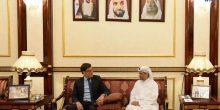 الفجيرة | حمد بن محمد يستقبل نائب وزير خارجية فنزويلا للشرق الأوسط وآسيا