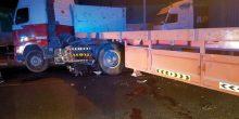 القوز الصناعية | حادث شاحنة يسبب مقتل شخصين