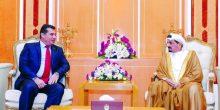 حاكم عجمان يستقبل السفير التركي