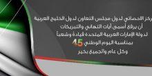 بالفيديو | مركز الإحصاء الخليجي يهنئ الإمارات 