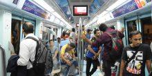 مترو دبي دون جرائم منذ إنشائه