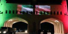 بالصور | سلطنة عمان تشارك الإمارات في احتفالاتها باليوم الوطني الـ 45