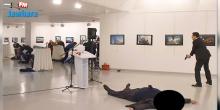 بالفيديو | المخابرات الروسية تُخرج زوجة السفير الروسي من موقع الهجوم