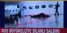 بالفيديو | عملية اغتيال السفير الروسي في تركيا