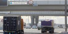 منع مرور الشاحنات من شارع محمد بن زايد منذ بداية 2017